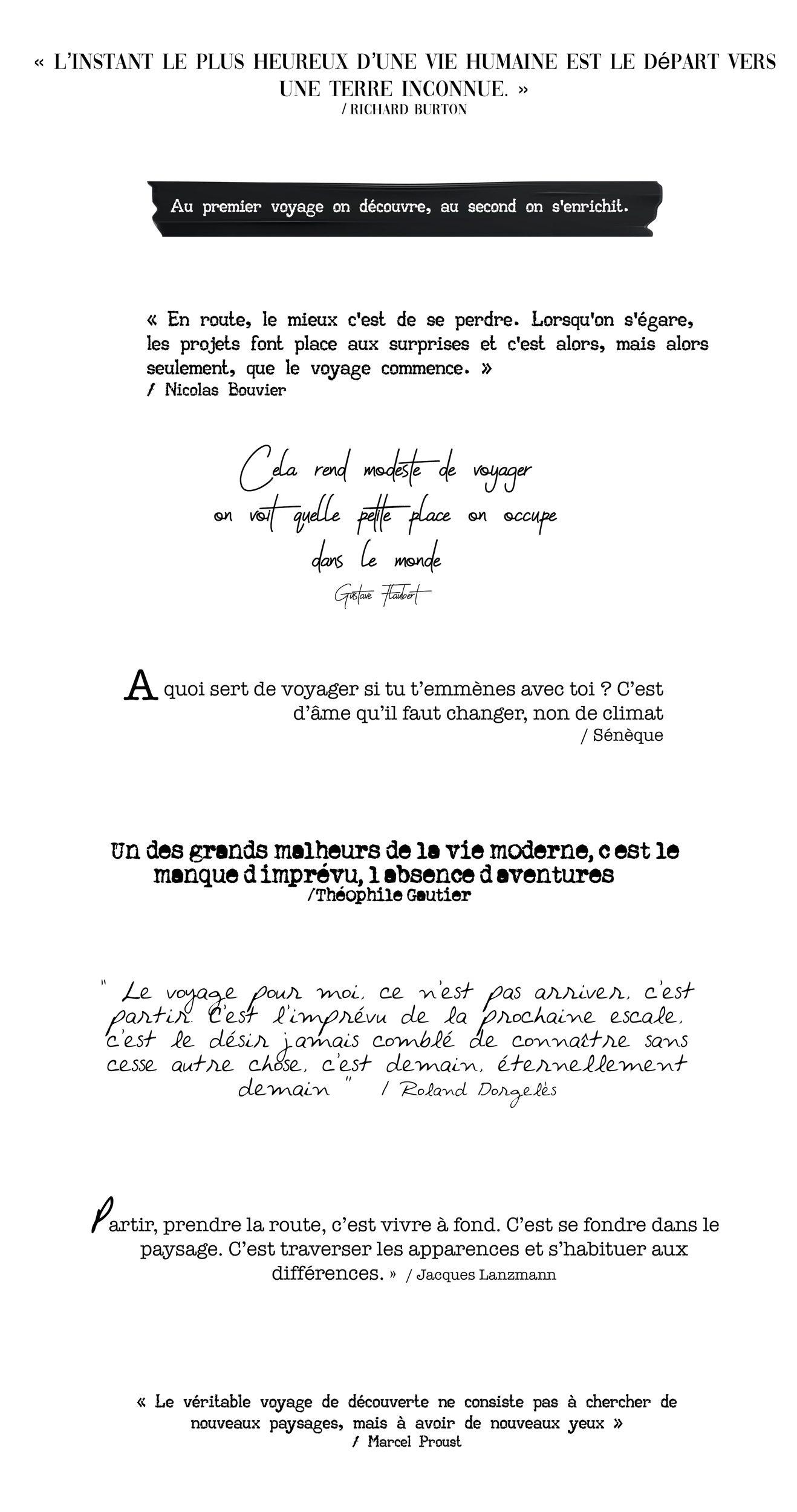 Le Top Des Citations De Voyage Pour S évader Kallisteha