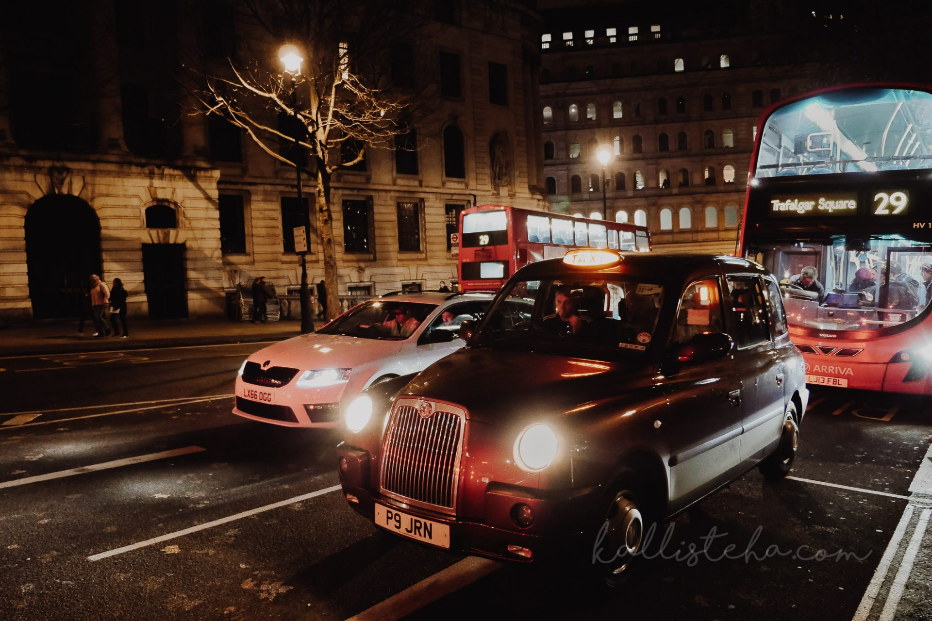 Un réveillon à Londres