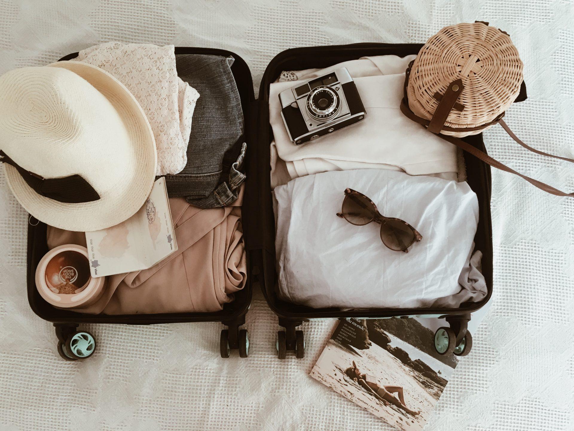 Préparer sa valise - valise cabine